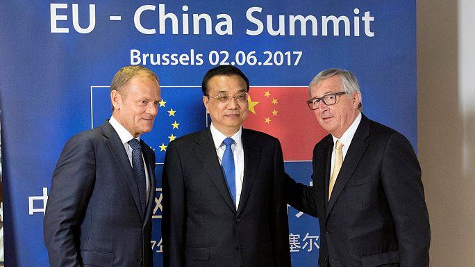 ЕС и Китай едины в борьбе с изменением климата, но далеки еще от соглашения по торговле
