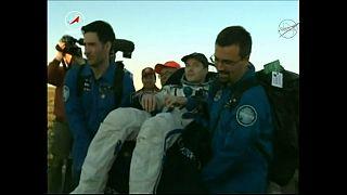 Spazio: atterrata la Soyuz