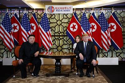 President Donald Trump met North Korean leader Kim Jong Un in Hanoi, Vietnam, last monthl