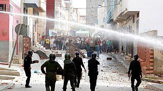Maroc : affrontements entre manifestants et policiers dans une localité du nord