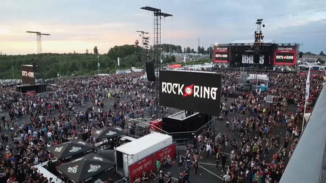 """Le festival """"Rock am Ring"""" évacué en Allemagne"""