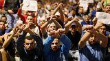 تواصل المظاهرت المطالبة بالإفراج عن الزفزافي في الحسيمة
