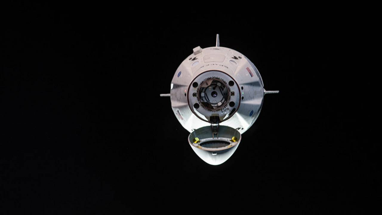 Image: he uncrewed SpaceX Crew Dragon spacecraft is the first Commercial Cr