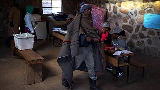 Lesotho votes in keenly contested general elections