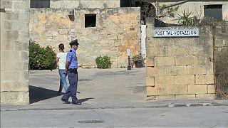 Malta'da halk sandık başında