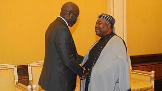George Weah calls on Gabon's Ali Bongo ahead of Liberia's election