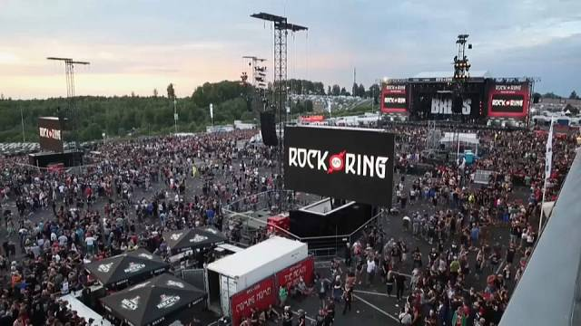 Terör arası verilen Rock am Ring devam ediyor