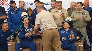 Члены экипажа МКС вернулись на Землю