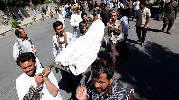 سقوط قتلى وجرحى في تفجيرات خلال جنازة في كابول