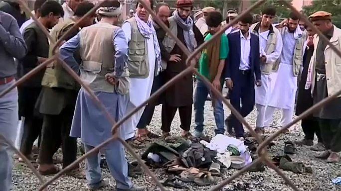 Тройной взрыв на кладбище в Кабуле: есть погибшие