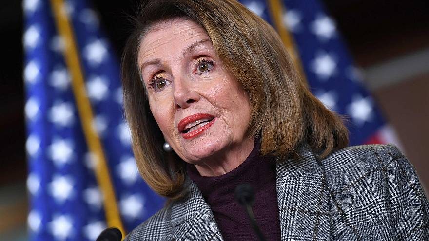 Image: House Speaker Nancy Pelosi (D-CA), speaks during a weekly press conf