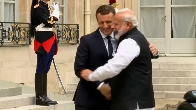 França e Índia juntas na luta contra as mudanças climáticas
