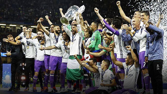 ريـال مـدريد يفوز بلقب دوري أبطال أوروبا للمرة الثانية عشرة في تاريخه