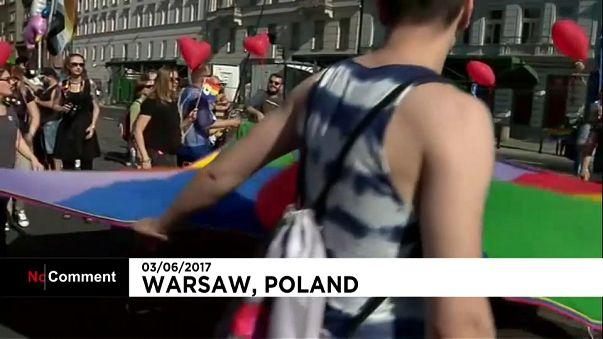 Polonya'da Onur Yürüyüşü