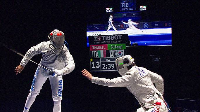 Italy get fencing gold in Moscow Grand Prix
