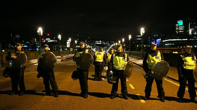 Armed police fire 50 rounds to stop and kill London terrorists