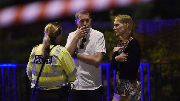 London attacks: 'We heard gunshots... they said you gotta get out'