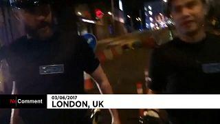 Großalarm in London: Bilder aus der Nacht nach dem Angriff