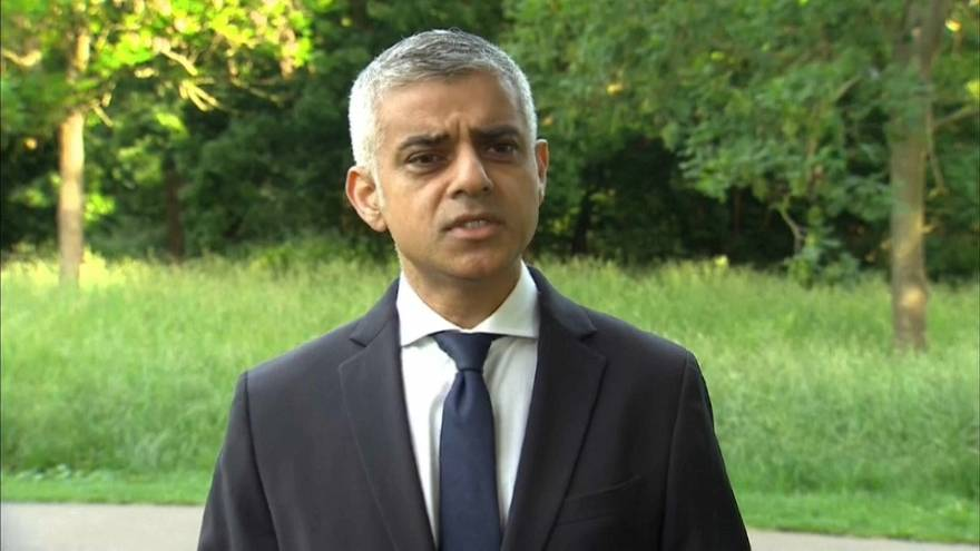 London attack: Mayor Khan condemns ''cowardly terrorists''