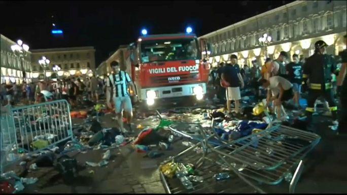 Turin: Über 1500 Verletzte nach Massenpanik