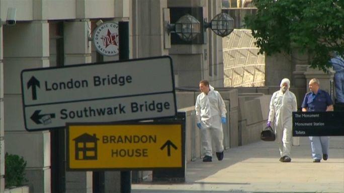 Londra'da terör dehşeti