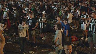 Εικόνες πανικού στο Τορίνο από λάθος συναγερμό