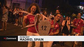 Ξέφρενοι πανηγυρισμοί στη Μαδρίτη για το 12ο της Ρεάλ