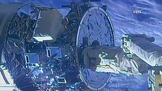 "ISS: ""Cygnus"" abgedockt"