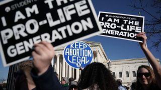 Image: Pro-life activists