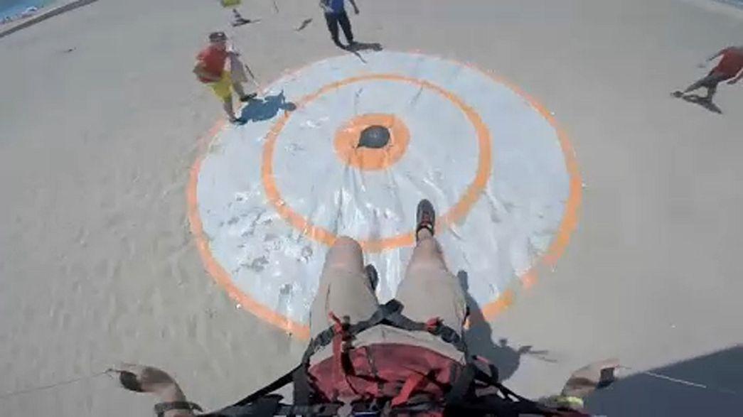 Húsz centiméteres cél 700 méter után