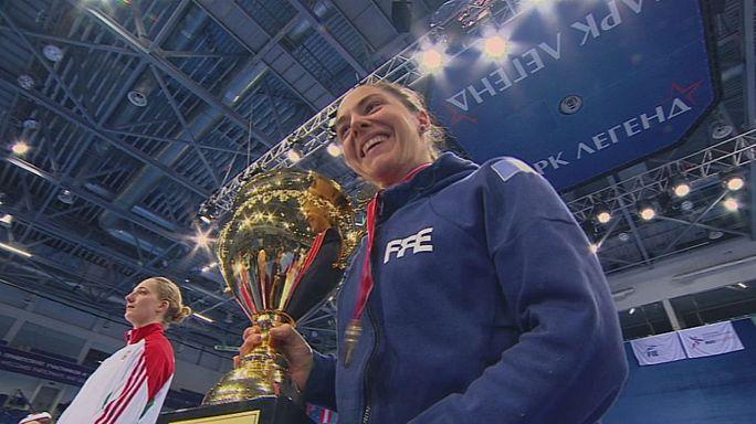 ليمباخ تحصد جائزة موسكو الكبرى في المبارزة