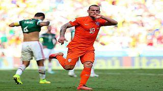 Wesley Sneijder rekora koşuyor