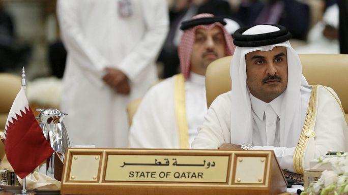 Quatro países árabes cortam relações e ligações com o Qatar