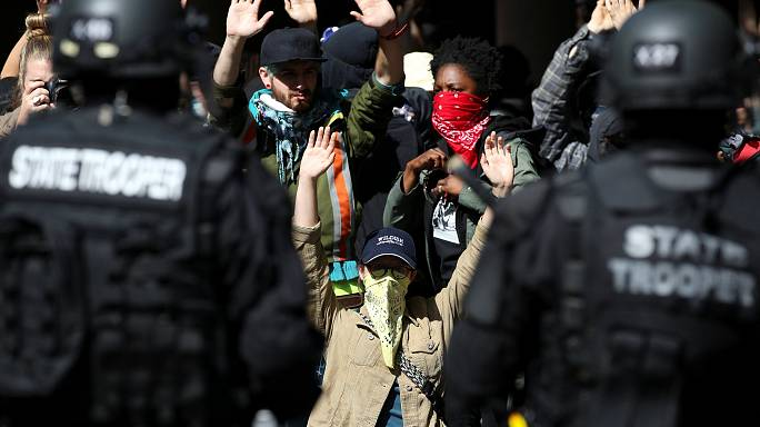 Arrests made as Portland protesters clash