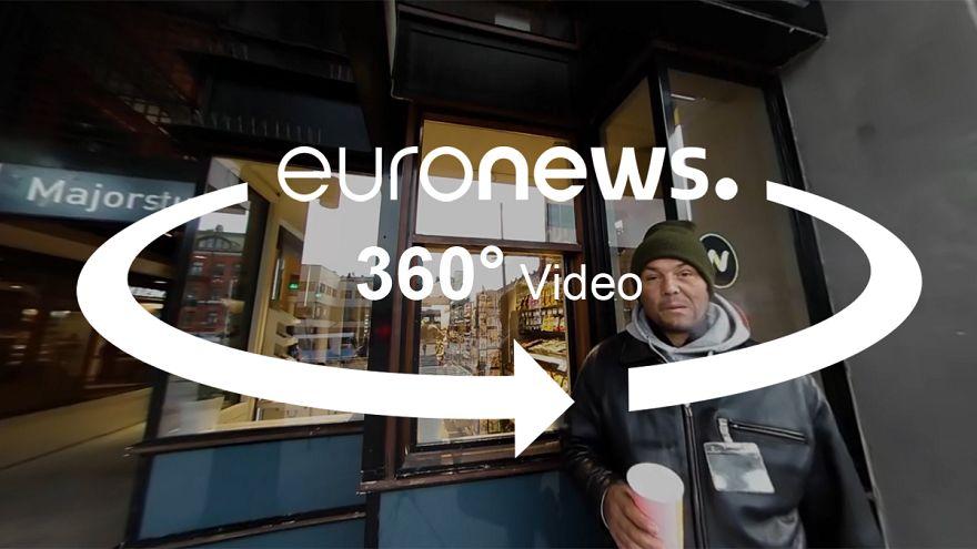34, Roma, Straßenverkäufer in Oslo