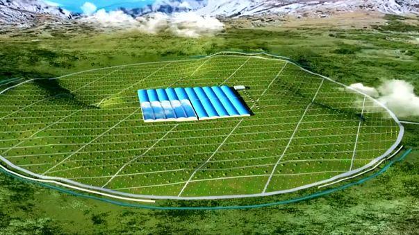 China baut Riesenobservatorium für kosmische Strahlung