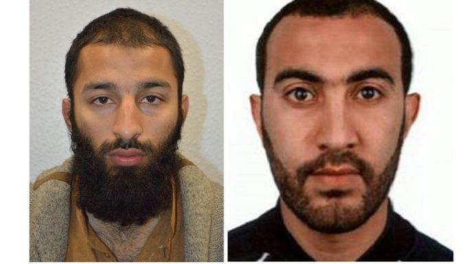 """""""Dschihadisten von nebenan"""": Khuram Butt (27) und Rachid Redouane (30)"""
