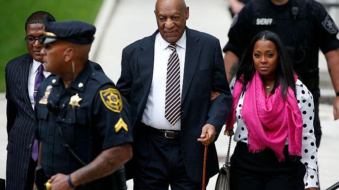 Bill Cosby hakim karşısında