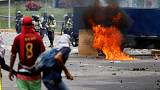 Venezuela: Proteste zu Hause, Zuspruch aus Bolivien