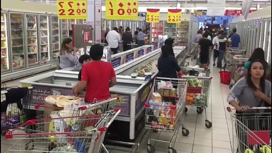 Bloqueio ao Qatar provoca corrida aos supermercados