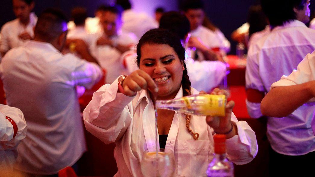 В Мехико установлен самый тоничный рекорд