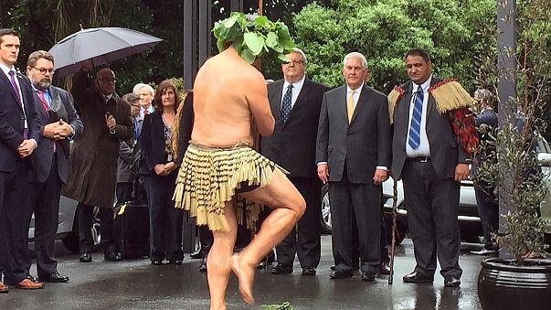 Ν. Ζηλανδία: «Θερμή» υποδοχή στον Ρεξ Τίλερσον
