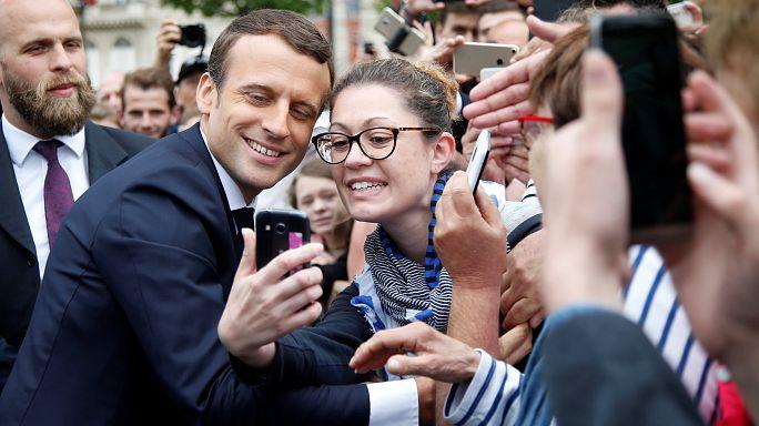 Auslandsfranzosen wählen Macron-Kandidaten