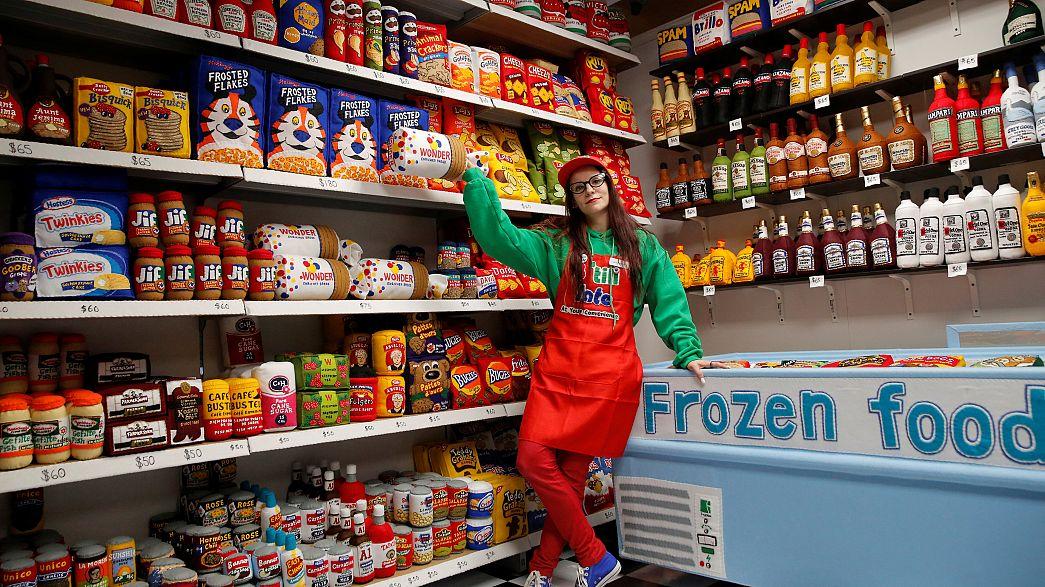 """EUA: A """"Mercearia"""" onde todos os produtos são de feltro"""