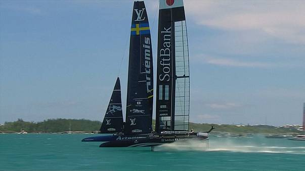 Ainslie sail failure scuppers UK chances in second America's Cup semis