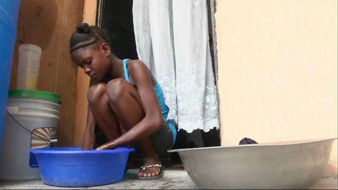 Explotación infantil en Haití