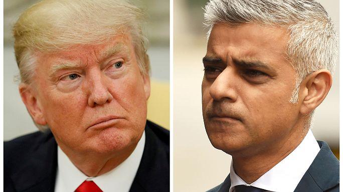 جدل بين ترامب وصادق خان بعد هجوم جسر لندن