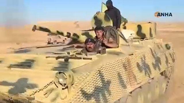 Milicias kurdas ponen en jaque al Dáesh en Siria
