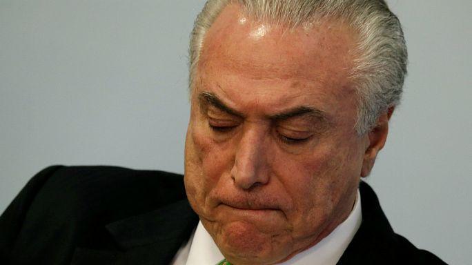 """Brasil: TSE reinicia julgamento que pode """"derrubar"""" Presidente Temer"""