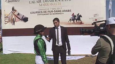 Maroc : l'ambition d'une femme jockey
